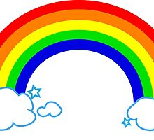 Rainbow by hamsters
