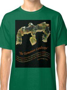 the Tasmanian Landscape b Classic T-Shirt