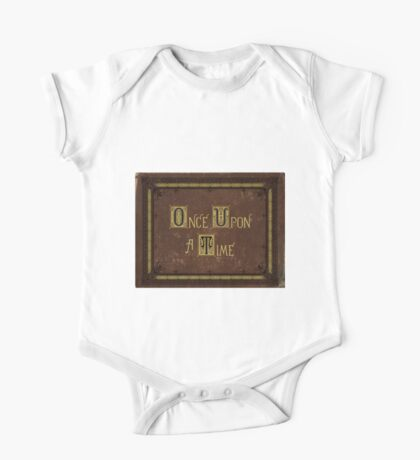 Once Upon A Time Book One Piece - Short Sleeve