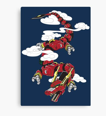Year of the Zord Canvas Print