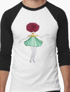 Flower Girl : Dahlia Men's Baseball ¾ T-Shirt