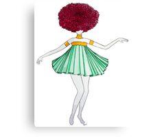 Flower Girl : Dahlia Canvas Print