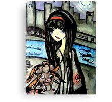 pokemon dark gloom  Canvas Print