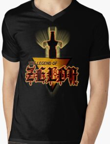 Zelda Logo Tee Mens V-Neck T-Shirt
