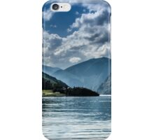 Beautiful fjords in Norway iPhone Case/Skin