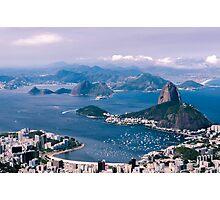 Sugarloaf Mountain - Rio De Janeiro Photographic Print