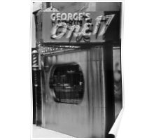 george's one seventeen Poster