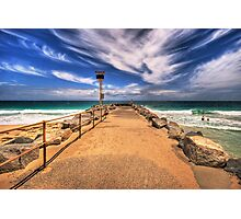 City Beach Groyne Photographic Print