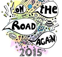 On the road again tour 2015 by jana95s