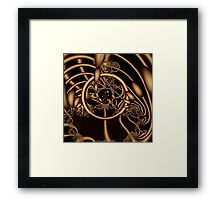 dreams organized content Power foundation Framed Print