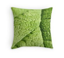 Green. Throw Pillow