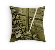 Old fuel. Throw Pillow