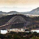 Panama Canal by Bernai Velarde