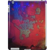 Pink & Purple liquid light art iPad Case/Skin