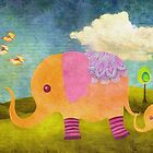 Elephants & Dreams by AnaCBStudio