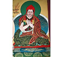 his eminence. wall painting, northern india Photographic Print