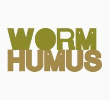 Green WORM HUMUS No.1 by HumanByDefault