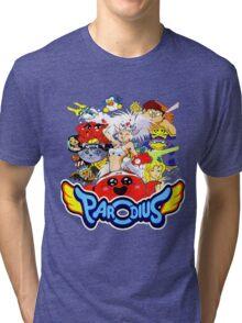 Parodius Tri-blend T-Shirt