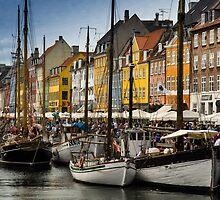 Nyhavn (Copenhagen) by Anastasia E