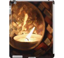 Pretty Candle iPad Case/Skin