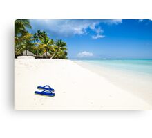 Escape from paradise Canvas Print