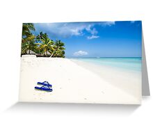 Escape from paradise Greeting Card