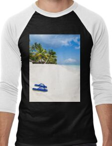 Escape from paradise Men's Baseball ¾ T-Shirt