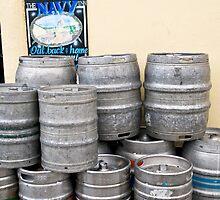 Beer barrels by Klaus Offermann