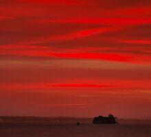 A Folly In A Sunset by jakeof