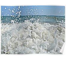 Ocean Spray - Matunuck Beach - Rhode Island Poster