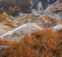 Hotspring in Hokkaido Japan by Aneurysm