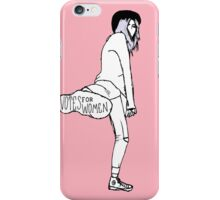 'Votes for Women' print iPhone Case/Skin