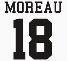 Disney Mighty Ducks player : Connie Moreau #18 by Saraelle
