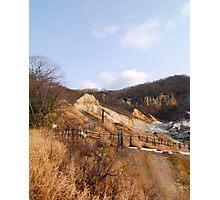 Hotspring at Hokkaido Japan Photographic Print