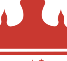 Crown of The New Monarchy Emblem Sticker
