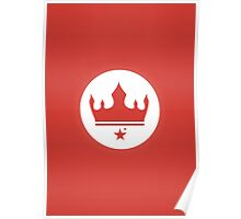Crown of The New Monarchy Emblem Poster