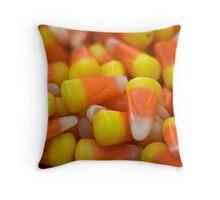 Candy corn Throw Pillow