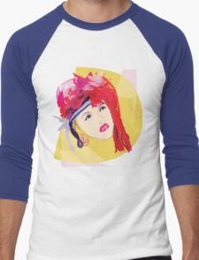 Cyndi's So Unusual Men's Baseball ¾ T-Shirt