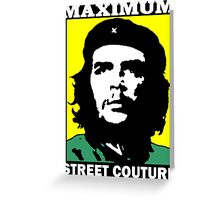 CHE-TWO Greeting Card