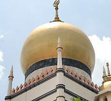 Sultan Mosque in Singapore by Aneurysm