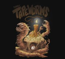 Terrible Tapeworms by allanohr