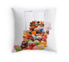 Spill the beans Throw Pillow