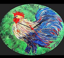 Rooster......or ...........He moa kâne  by WhiteDove Studio kj gordon