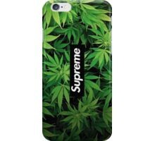 supre weed iPhone Case/Skin