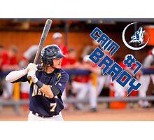 Cain Brady, CSN, Baseball Photographic Print