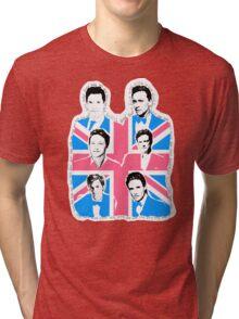 British men Tri-blend T-Shirt