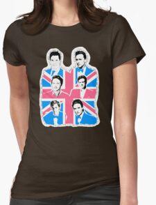 British men Womens Fitted T-Shirt