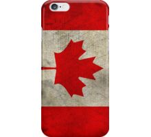 Grunge Canada Flag iPhone Case/Skin