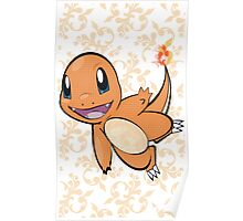 Fancy Charmander Poster