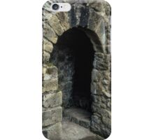 Cubicle in lavatory Ruins of abbey Rievaulx North Yorkshire England 198406020077 iPhone Case/Skin